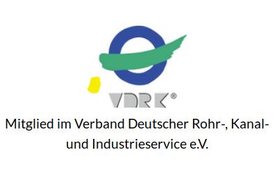 Mitglied im Verband Deutscher Rohr-, Kanal-, und Industrieservice e.V.